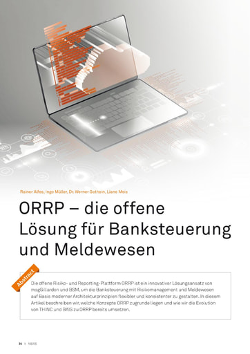 Die Open Risk and Reporting Platform - ORRP