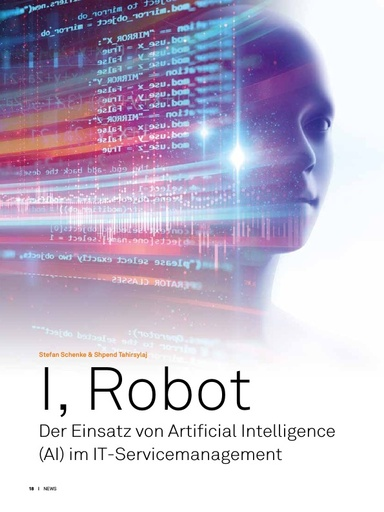 I, Robot - Der Einsatz von Artificial Intelligence (AI) im IT-Servicemanagement