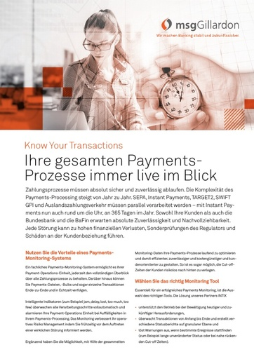 Payments-Prozesse immer im Blick
