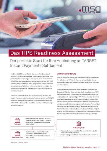 Das TIPS Readiness Assessment