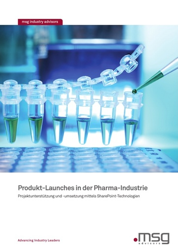 Produkt-Launches in der Pharma-Industrie